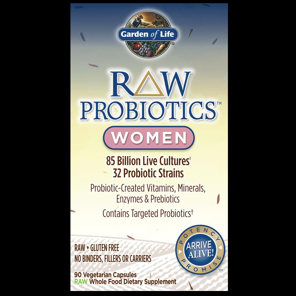 raw probiotics for women