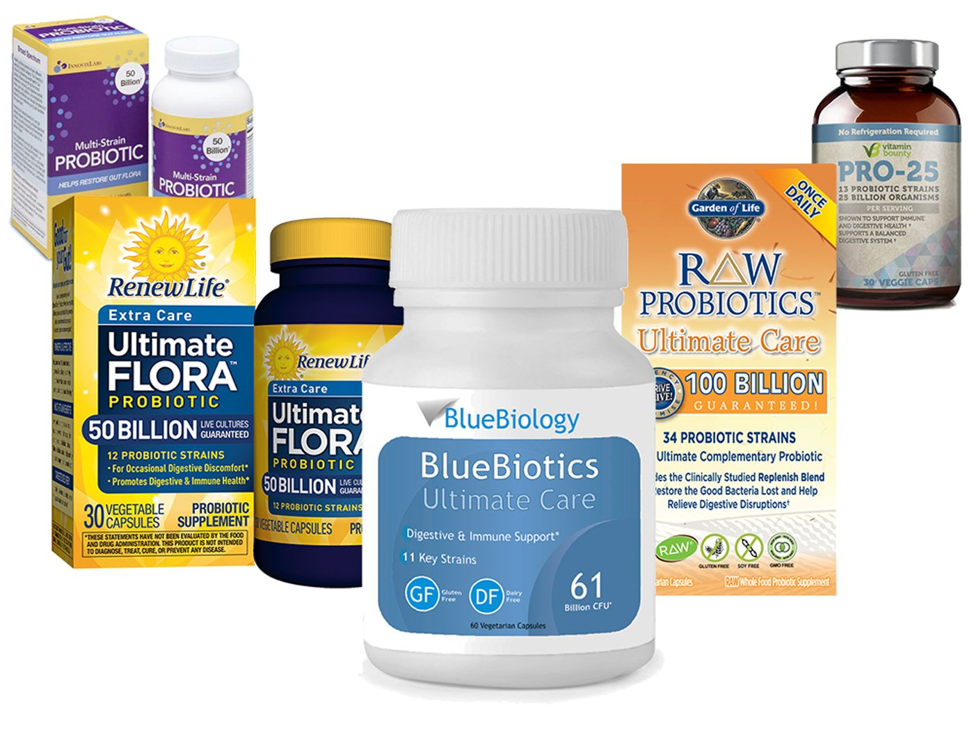Image of the 5 best probiotic supplement products