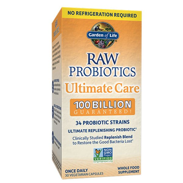 Image of a box of Garden of Life Raw Probiotics