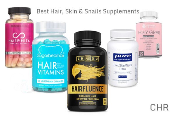 Top Five Hair, Skin, and Nail Supplements
