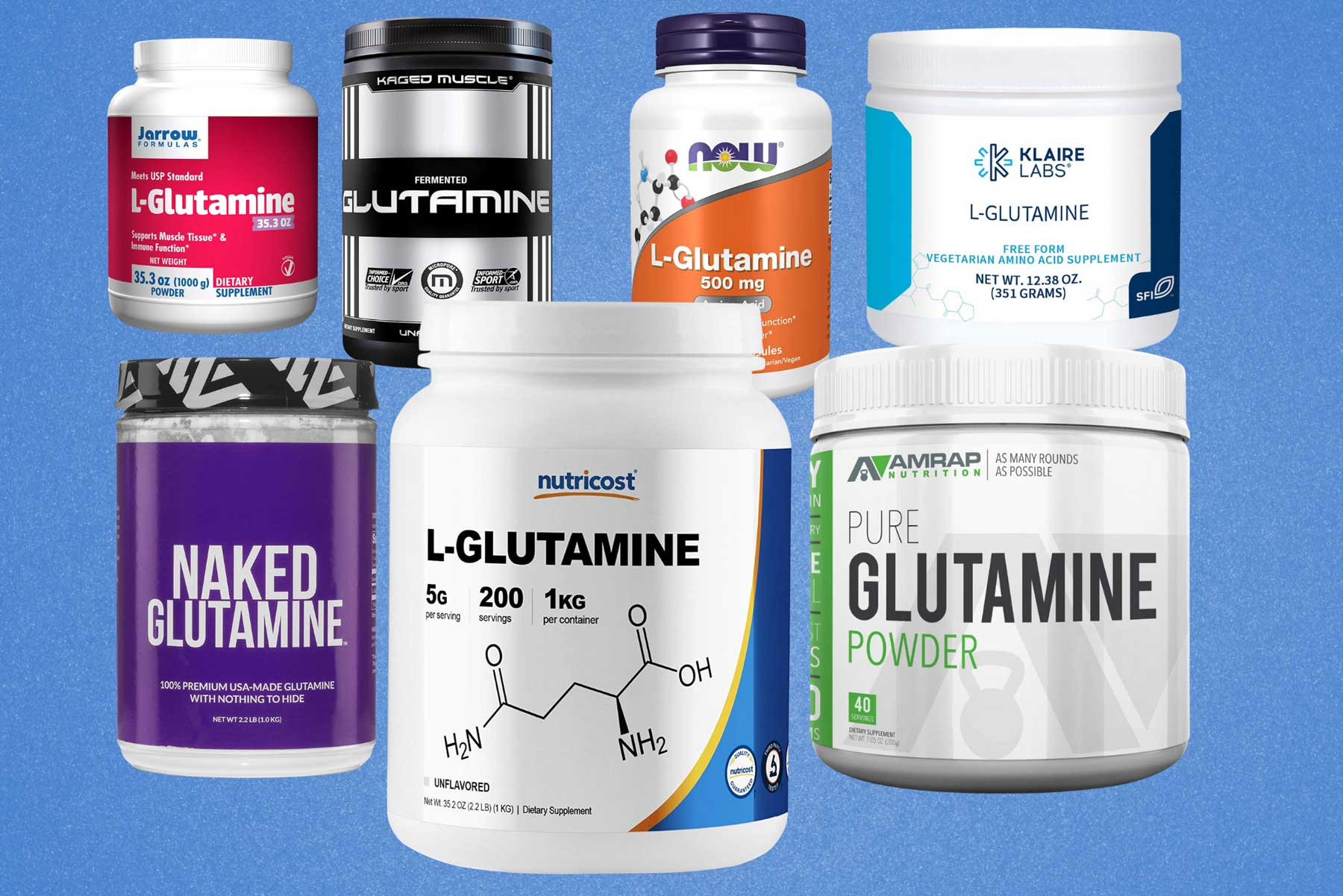 Image of the best glutamine supplements
