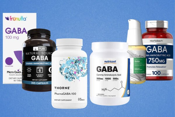 Image of the bottles of the best GABA supplements