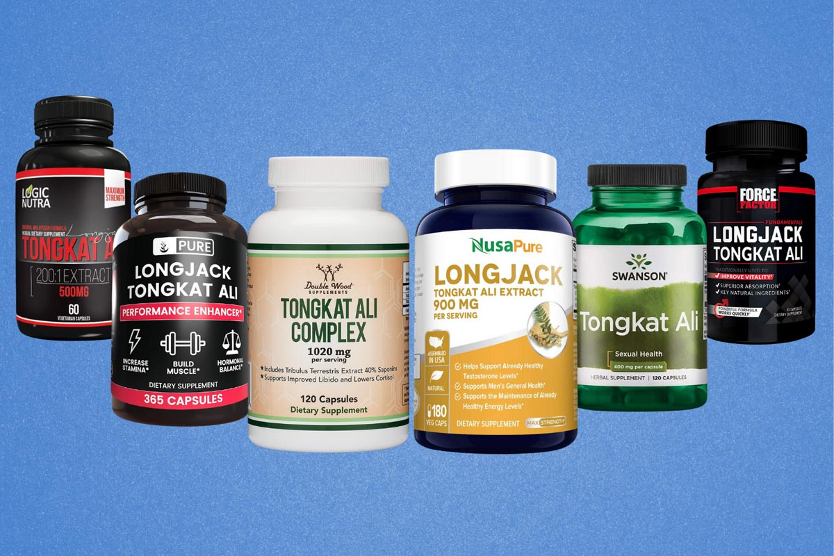 Image of the best tongkat ali supplements