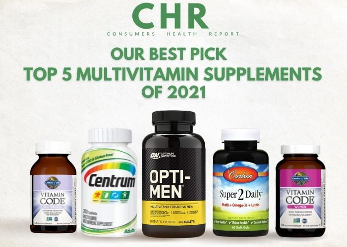top 5 multivitamins